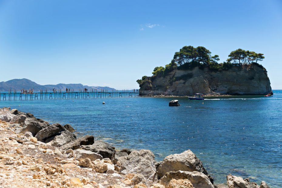Wooden bridge Agios Sostis, Zakynthos
